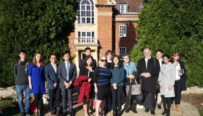 Chinese Law Discussion Group - Oxford/Skadden Visit Nov 2018