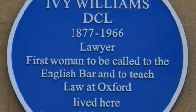 Ivy Williams Blue Plaque