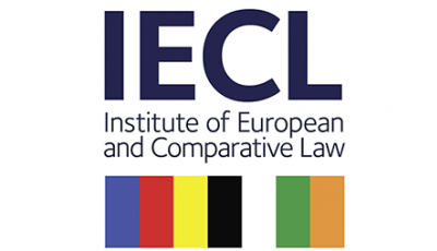 Logo of the IECL: Institute of European and Comparative Law
