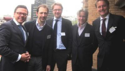 Photograph of Madrid reception at Linklaters