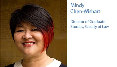 Mindy Chen-Wishart  Director of Graduate Studies, Faculty of Law