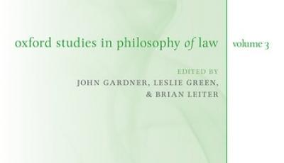 Oxford Studies in the Philosophy of Law 3 book cover