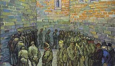 Vincent van Gogh: Prisoners Exercising