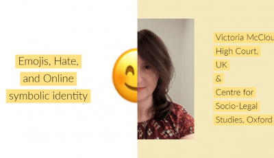 Title slide of Emoji, HATE and Online Symbolic Identity
