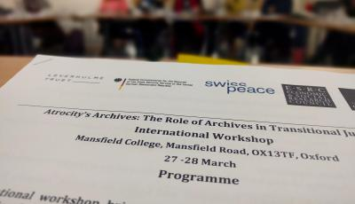 Archives workshop - discussion
