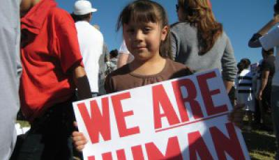 We are human photo